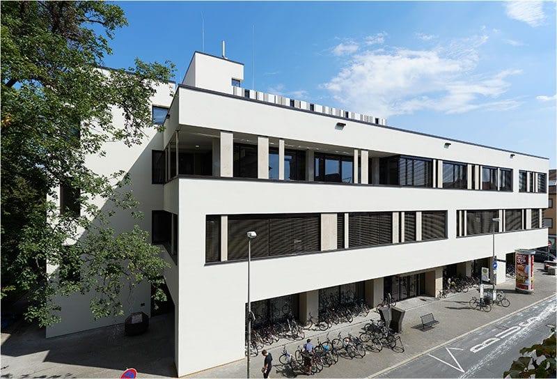 Foto der Hauptbibliothek Erlangen