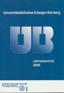 Titelbild des Jahresberichts 2006