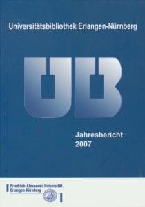 Titelbild des Jahresberichts 2007