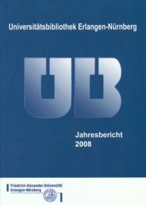 Titelbid vom Jahresbericht 2008
