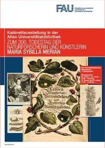 Ausstellungsplakat Maria Sibylla Merian