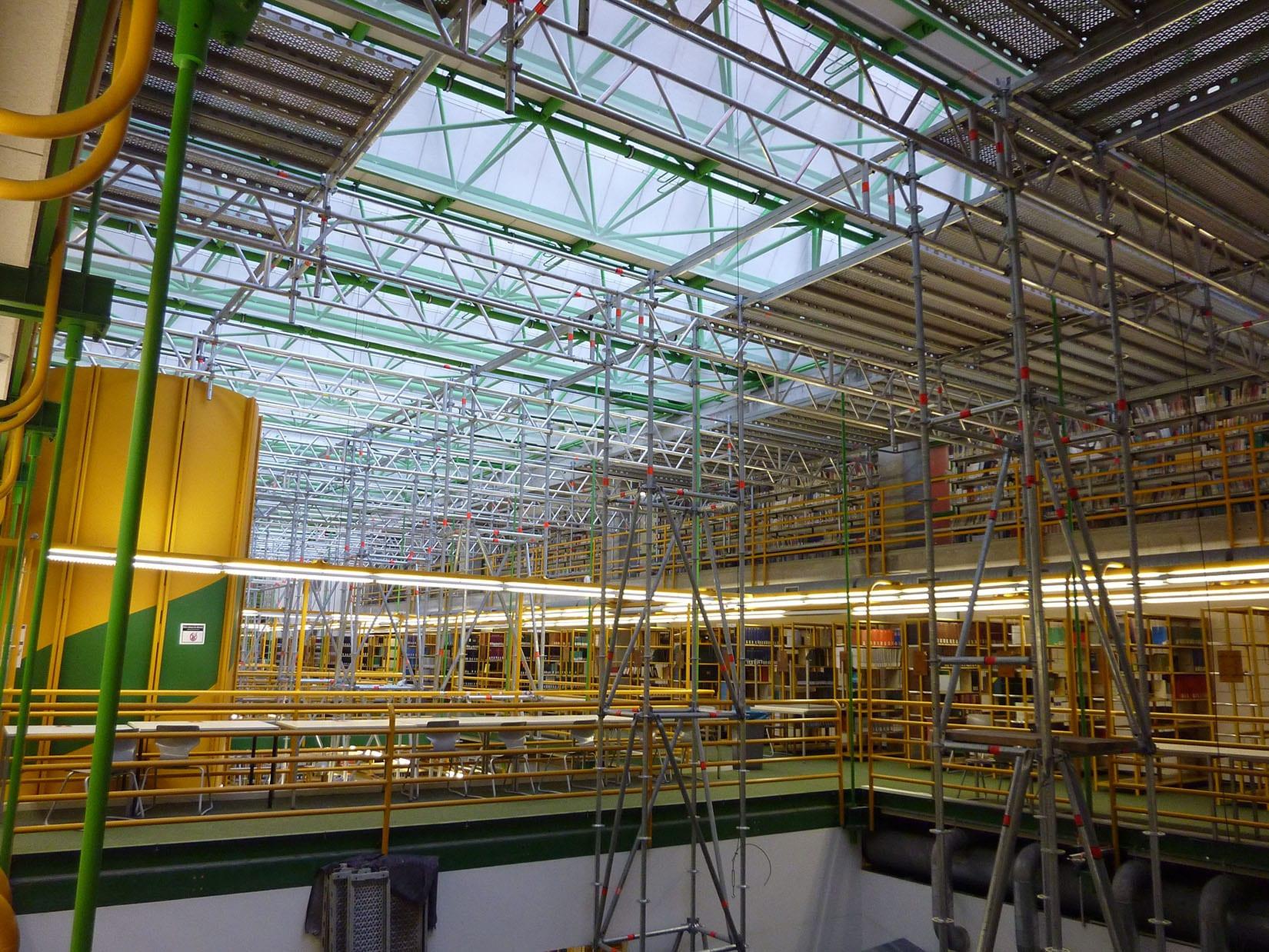 Ab 26. 2.: Bauarbeiten in der WSZB werden fortgesetzt ...