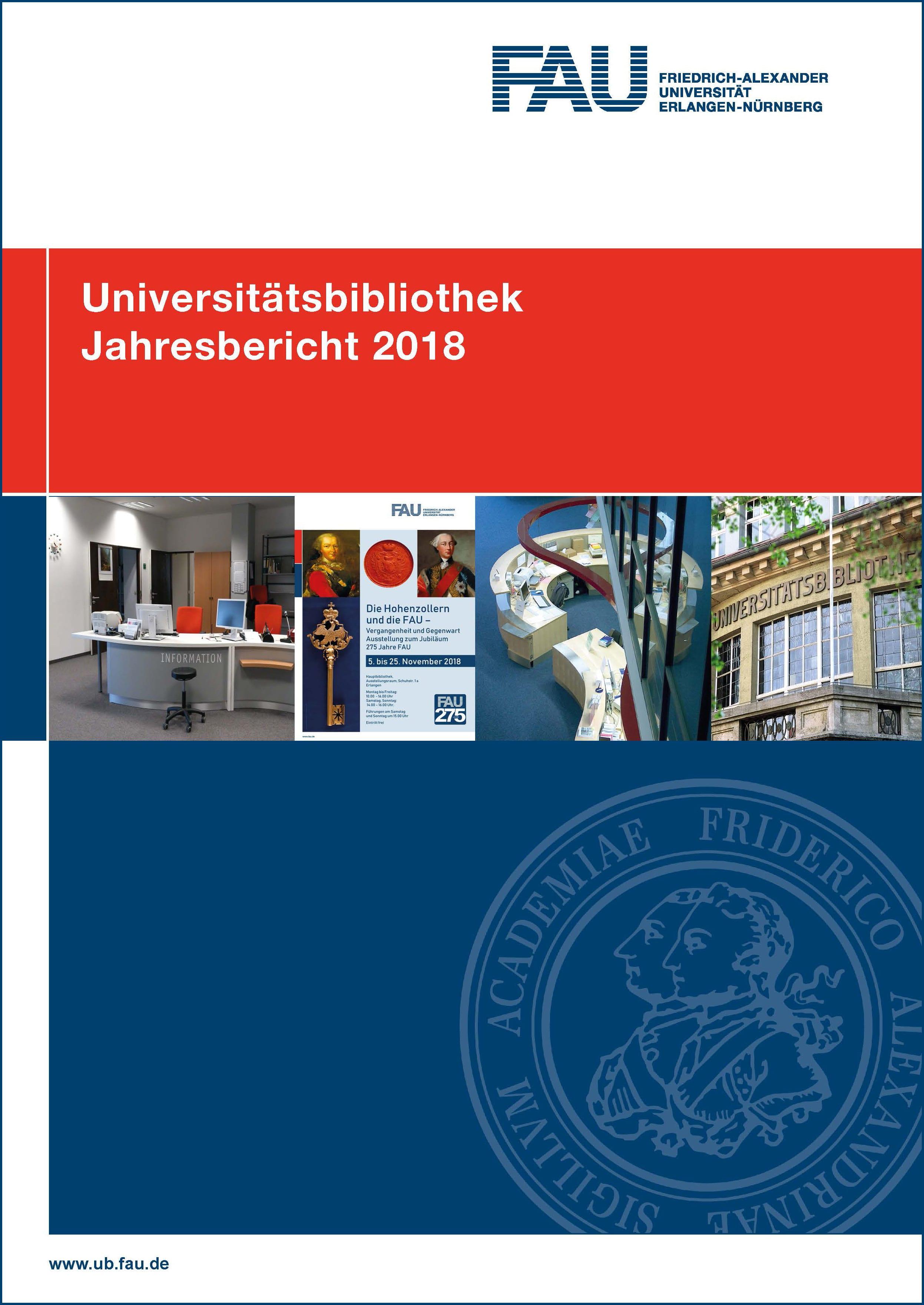 Umschlagsbild Jahresbericht 2018