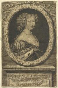 Porträt Johanna Elisabeth Markgräfin zu Brandenburg
