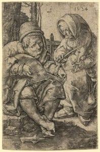 Zwei Musizierende