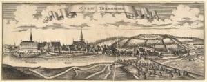 Ansicht der Stadt Donauwörth